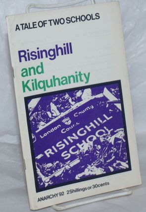 Anarchy. No. 92 (Vol. 8 No. 10), October 1968: A Tale of Two Schools; Risinghill and Kilquhanity