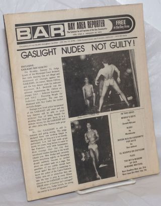 B.A.R. Bay Area Reporter: the catalyst for all factions of the gay community; vol. 3, #2, January...