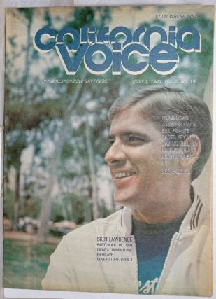 California Voice: the responsible gay press; vol. 5, #14, July 1, 1983: Skot Lawrence. Paul D....