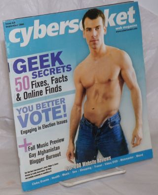 Cybersocket Web magazine: issue #6.9, September 2004; You Better Vote!