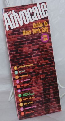 The Advocate Guide to New York City June 1994 [brochure
