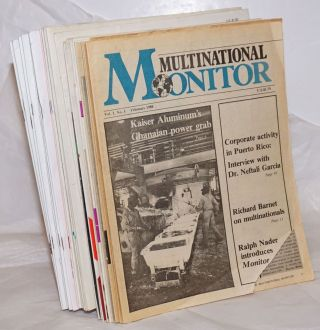 Multinational Monitor [31 issues]. Ralph Nader
