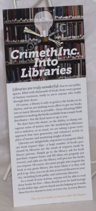 CrimethInc. Into Libraries