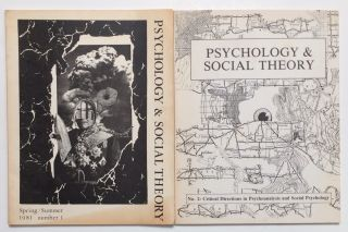 Psychology & social theory. Nos 1 and 2