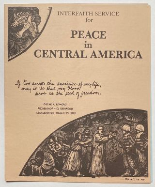 Interfaith Service for Peace in Central America
