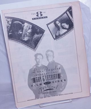 The 8th Annual Los Angeles International Gay and Lesbian Film and Video Festival: July 6-12, 1990