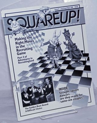Squareup! a magazine for gay & lesbian square dancers & their friends; #8, Jul/Aug/Sept 1996:...