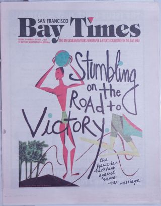 San Francisco Bay Times: the gay/lesbian/bi/trans newspaper & calendar of events for the Bay...