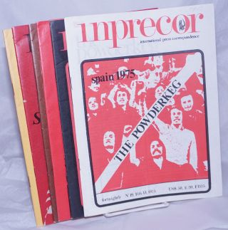 inprecor [1975, limited run] international press correspondence