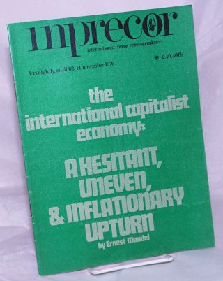 inprecor [1976, Nos. 61/32 - double issue- Nov 11] international press correspondence