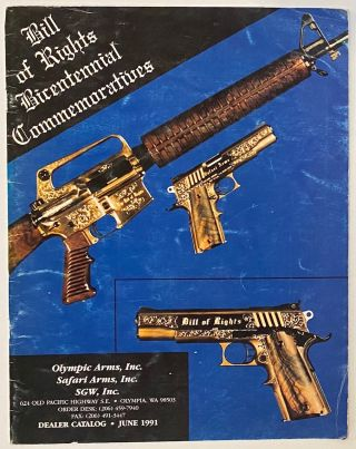 Olympic Arms, Inc.; Sfaari Arms, Inc.; SGW, Inc. Dealer Catalog. June 1991