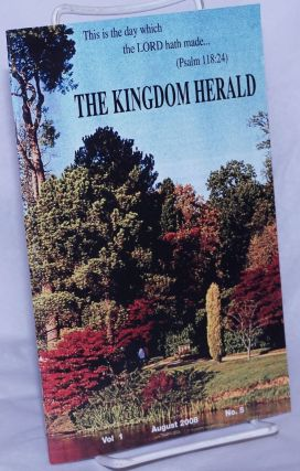 The Kingdom Herald, vol. 1, no. 5, August 2008. Constance Cunnigham, ed