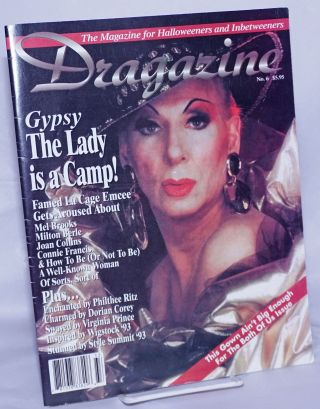 Dragazine: the magazine for Halloweeners & inbetweeners; #6: Gypsy - the Lady is a Camp! Sue...