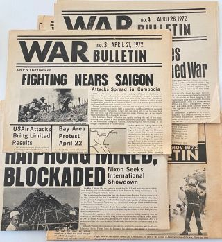 War Bulletin [5 issues