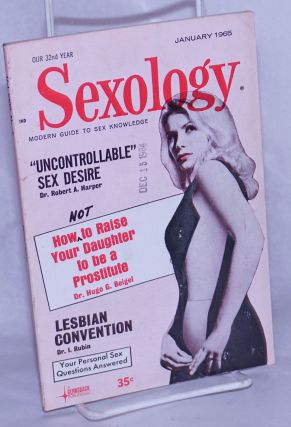 Sexology: vol. 31, #6, January, 1965; Lesbian Convention. Hugo Gernsback, Isadore Rubin...