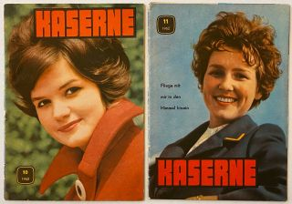 Die Kaserne. Nos. 10 and 11 for 1962
