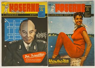 Die Kaserne: Magazin für alle gegen den Bonner Barras. [two issues, vol. 3 nos. 1 and 2, with...