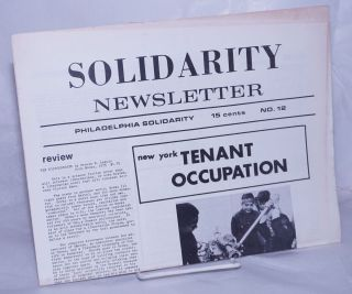 Solidarity newsletter, no. 12, Winter, 1975-76