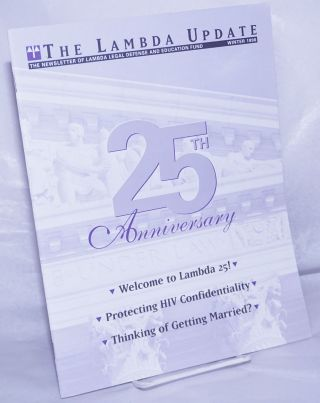 Lambda Update: newsletter of the Lambda Legal Defense and Education Fund vol. 15, #1, Winter...