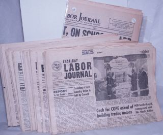 East Bay Labor Journal 1954-1972 (fragmentary run). Central Labor Council of Alameda County