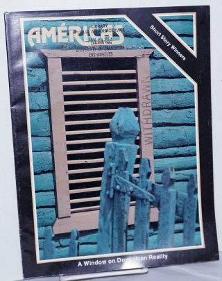 Américas: vol. 36, #1, Jan/Feb 1984: A Window on Dominican reality. Winthrop P. Carty, Agueda...