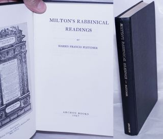 Milton's Rabbinical Readings. Harris Francis Fletcher