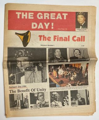 The Final Call. Vol. 4 no. 1