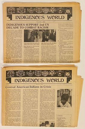 Indigenous world. Vol. 3 nos. 1 and 2 (two issues