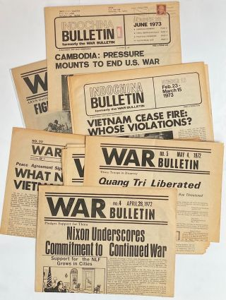 War Bulletin [16 issues