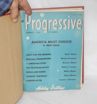 The progressive. Vol. 14, no. 7 to vol. 16, no. 12 (July, 1950 to December, 1952)