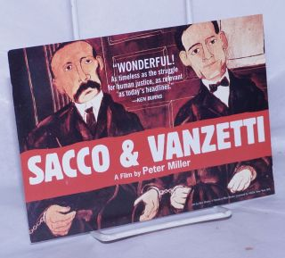 Sacco & Vanzetti: A Film by Peter Miller [promotional postcard