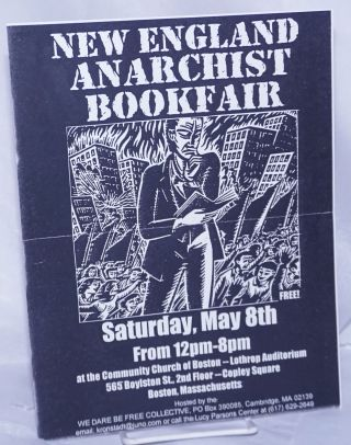 New England Anarchist Bookfair [handbill