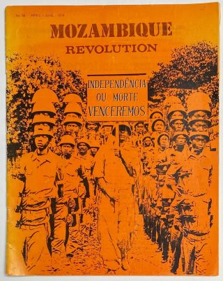 Mozambique Revolution; official organ of the Mozambique Liberation Front (FRELIMO) no. 59...