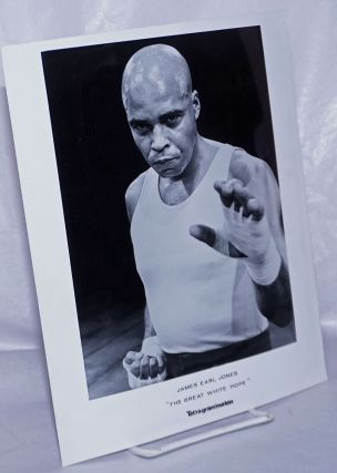 "8x10 b&w glossy photo of James Earl Jones as Jack Jefferson in ""The Great White Hope"" James Earl..."