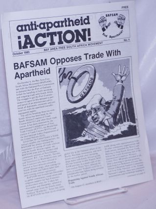 Anti-Apartheid Action! 1985, Oct No. 4
