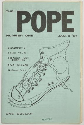 The Pope. No. 1 (Jan. 9, 1987