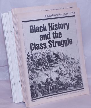 Black history and the class struggle [Nos. 1-21 mssing Nos. 9 & 10