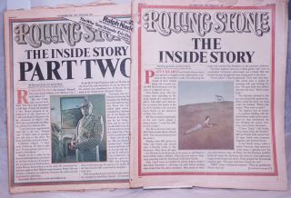 Rolling Stone: The Inside Story parts 1 & 2; #198 & #200, Oct. 23, 1976 & Nov. 20,...