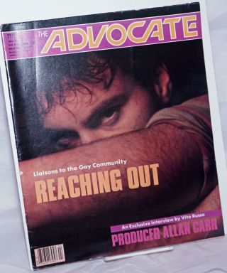 The Advocate: the national gay newsmagazine; #396, June 12, 1984; in two sections; Reaching Out....