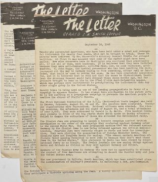 The Letter [three issues