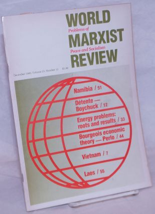 World Marxist Review: Problems of peace and socialism. Vol. 23, No. 12, 1980, Dec
