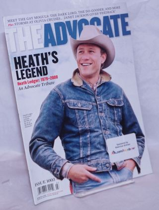 The Advocate: #1003, March 11, 2008: Heath's Legend; an Advocate tribute. Anne Stockwell, Julie...