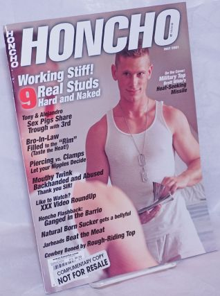 Honcho: vol. 23, #9, May 2001: Working Stiff. Gordon Wallace, Larry Townsend Tom of Finland, Dirk...