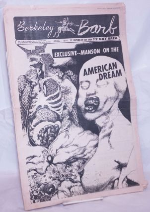 Berkeley Barb: vol. 11, #2 (#257) July 17-23, 1970: Exclusive: Manson on the American Dream. Max...