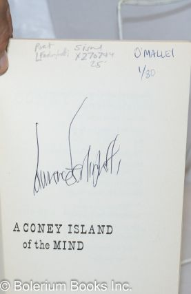 A Coney Island of the Mind: poems [signed reprint]