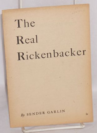 The real Rickenbacker. Sender Garlin