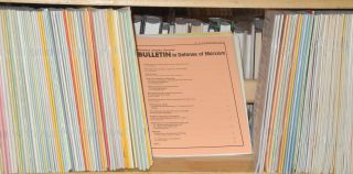Bulletin in defense of Marxism, no. 1, December, 1983 to no. 131, March-April 1996 Lacking four issues