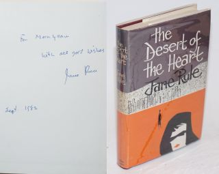 The Desert of the Heart [signed]. Jane Rule