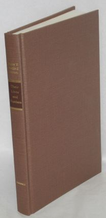 Their lives and numbers; the condition of working people in Massachusetts, 1870-1900. Henry F....