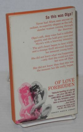 Of love forbidden; former title: The Scorpion, a Crest reprint, uncensored abridgement, translated from the German by Whittaker Chambers
